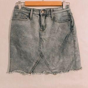missimo jean skirt